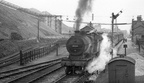 MR 2P 40454 departs Annesley station with a service bound for Worksop in 1952. Copyright DaveF