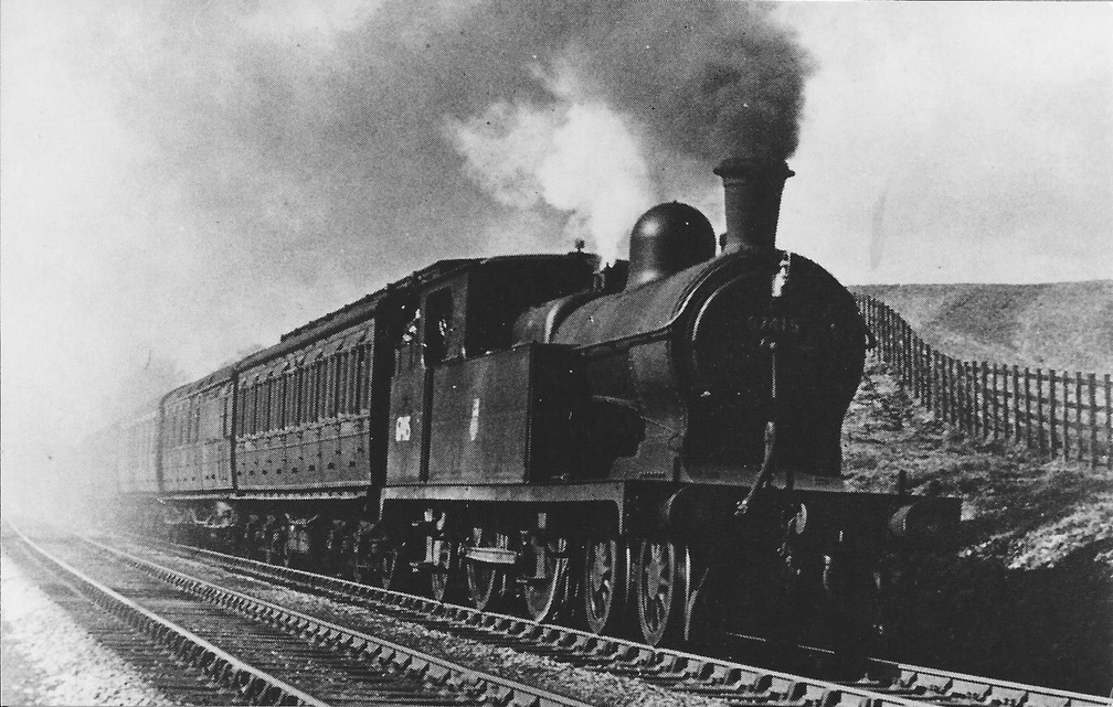 1-GCR-LNER ROBINSON 'C13' CLASS 4-4-2T BR No. 67415 - 1953 NEW MILLS