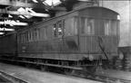 1-GCR COACH as LNER No.DE951550 at TRAFFORD PARK in 1955