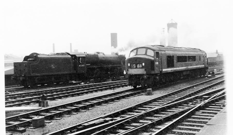 Transition period, 45382 and D126, leeds city 60's