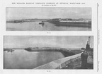 1904 3x Antique Engineering Prints - Midland Railway Co's Harbour at Heysham