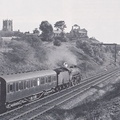 .61111 heads south on a local passenger September 1959