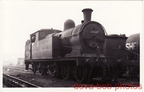 LNER C14 67448 Gorton Shed 1957 GCR 4-4-2T Loco Great Central MPD