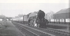 Staveley Central railway station ,A3 60111 Enterprise 1957(Gcr)