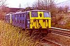 20 April 1983 , Hope sidings , 76013-036 stop over, on way to Booths of Rotherham