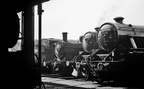 45373 and 45126 alongside Jinty 0-6-0 tank number 47550