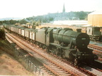 .48026 heads north with a coal train in August 1961