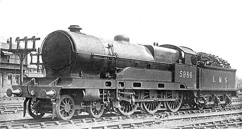 ex-LNWR Claughton Class 5986, with later enlarged boiler..jpg