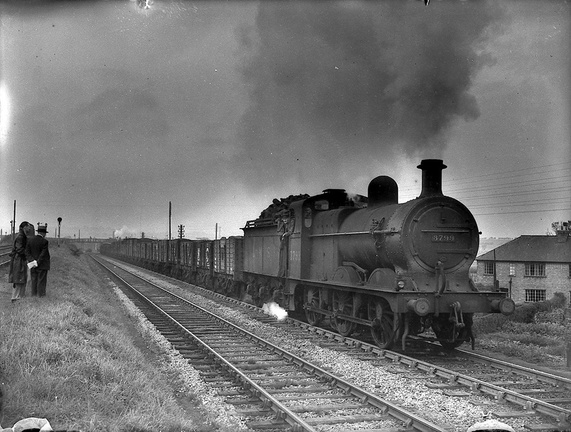 LMS 3799, built by the Midland Railway in Derby in 1904