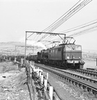 26002 ASSISTS STEAM ON DINTING VIADUCT 8-5-1954