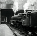 45111 departing Birmingham New Street in 1959