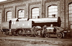 4-6-4T tank engine version of the L&YR Class 8  Dreadnought ,taken Horwich Works...