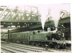 Nottingham station local to worksop 1949