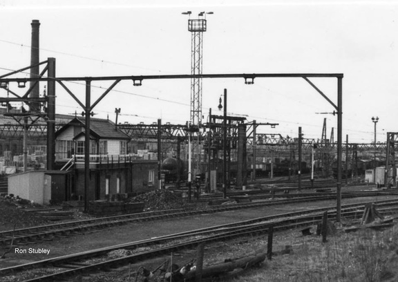 Dewsnap sidings signal box 8.4.1977