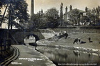 postcards of Cheshire. Captain Clarke's Bridge, Woodend Lane,