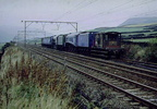 26th October 1978 and 60019 BITTERN and 60532 BLUE PETER sit in Hadfield loop awaiting a margin after service to gain access to Dinting Railway Centre.