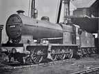 49578 , one of Fowlers less than successful 0-8-0's at Bolton Shed in 1958