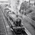 6971 Athelhampton Hall leaving Hall Green on a local for Stratford in 1961