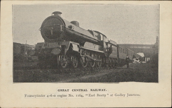 Great central Railway Earl Betty Godley Junction