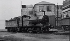 3F 0-6-0 No. 43246 in the yard at Saltley in 1949 .