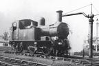 1401 on shed at Cheltenham Malvern Road in 1958
