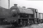 68006 on shed at Rowsley in 1962