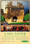 Lancaster Castle British Railways Rail Holiday