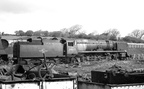 34062  17 Squadron  await disposal at R.S. Hayes-Birds scrapyard, Bridgend. Both had been scrapped by January 1966. This scrapyard disposed of 345 BR Locos. Photos by Les Pitcher