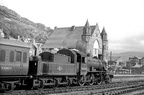 .Ivatt 2MT 2-6-0, 46446 at Barmouth
