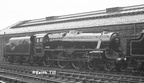 45273 just out of Paintshop at Crewe Works May 1953 and awaiting transfer application for tender
