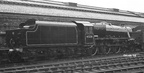 45328 just out of Paintshop at Crewe Works May 1953 and awaiting transfer application for tender.