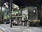 MN 4-6-2 No.35011 'General Steam Navigation' at Nine Elms.1960s