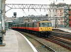 303003 leaving Glasgow Central in the early 90's