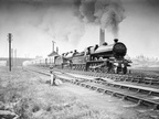 Two L&YR Dreadnoughts pulling the Royal Train at Chorley, Lancashire in 1913.