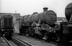 Stanier 2-6-0 42967 on Gorton shed in the mid 1960s