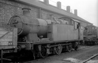 0-6-2T 6644 on Banbury shed in 1965