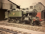 6132 at Old Oak carriage shed in 1960.