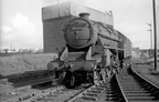 45365 works onto Ayr shed in the 1960s