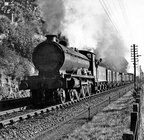 54639 approaches Ninewells Junction with a goods train for the Newtyle line on 29th September, 1948. No. 54639 was the last example of its class when withdrawn in 1953.
