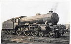 LNER B17 2861 Sheffield Wednesday Gorton