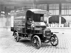 Manchester Victoria parcels and luggage van 1912