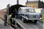Car sleeper service 1962