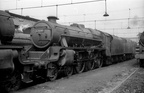 45281 on Wigan Springs Branch shed in the mid 1960s