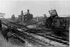 Demolition of Great Harwood station