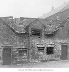 STALYBRIDGE - Castle Hall Farm Grosvenor Street, which was on the site of what became the Co-op buildings in Armentieres Square, shortly before demolition - 1920's