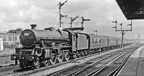 Kirkham & Wesham station, Illuminations Express from Bradford Exchange to Blackpool Central via the direct line, 8 September 1962  45694