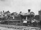 7234 in the works yard at Swindon after overhaul in 1955