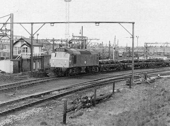 25179 Dewsnap sidings 27.4.1977.