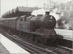 Belle Vue Station, Manchester, probably on a service to Hayfield, probably about 1955,