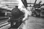 Steam loco at Sheffield Victoria station